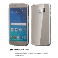 Clambo Crystal Series Samsung Galaxy S7 Hybrid Bumper Case Clear