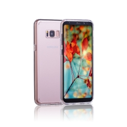Clambo Crystal Series Samsung Galaxy S8 Plus Hybrid Bumper Case Clear