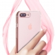 iPhone 7 Plus Crystal Scratch Resistant Hybrid Bumper Clear Case